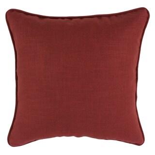 Circa Solid Lava 19-inch Self-corded Pillow