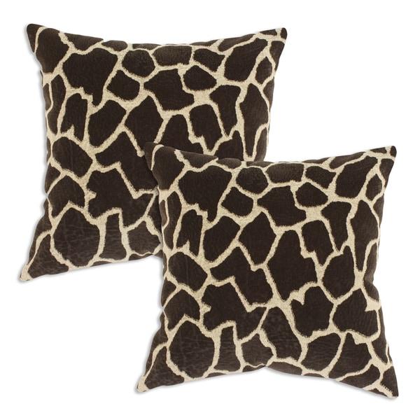 Chooty Giraffe Vicious Simply Soft Fiber Pillow