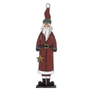 29-inch Wooden Santa Claus Display