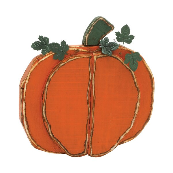 20-inch Decorative Pumpkin Display
