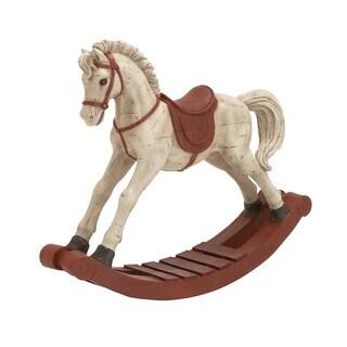 25-inch Rocking Horse Figurine