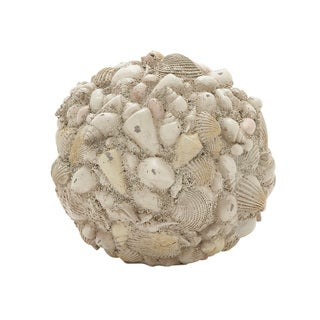 7-inch Shell Ball Decor