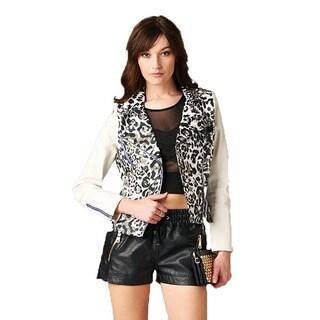 Women's Leopard Cross Jacket