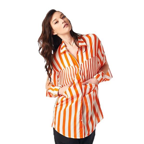 TOV Women's Orange Camilla Top
