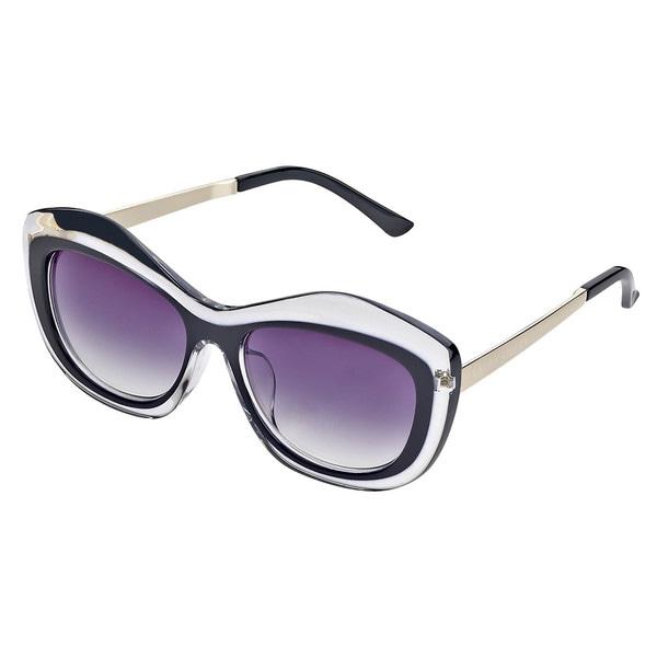 Laura Ashley Translucent Oversized Sunglasses