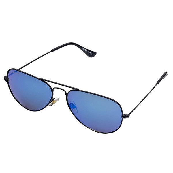 Laura Ashley Ladies Colored Lenses Aviator Sunglasses
