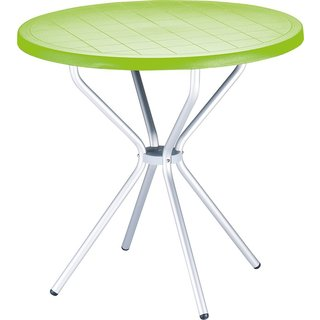 Poppy Light Green Round Table