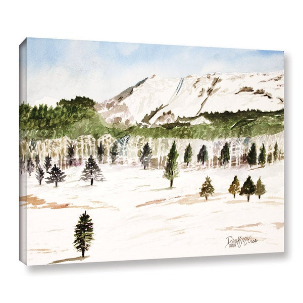ArtWall Derek Mccrea 'Pikes Peak' Gallery-wrapped Canvas