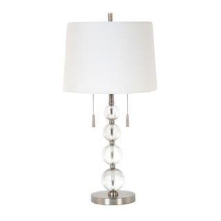 28-inch Twin Pull Chain Table Lamp
