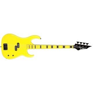 Dean Custom Zone Yellow Electric Bass Guitar