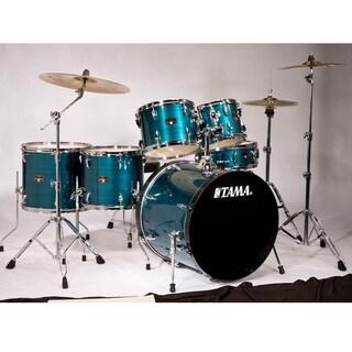 Tama Imperialstar 6-piece Hairline Blue Complete Drum Kit