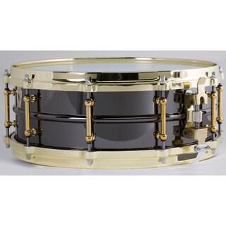 Ludwig LB416BT Black Beauty 'Brass on Brass' Snare Drum