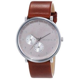 Skagen Men's SKW6168 'Hald' Brown Leather Watch