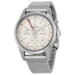 Breitling Men's AB045112-G772 'TransOcean' Automatic Chronograph Silver Stainless steel Watch