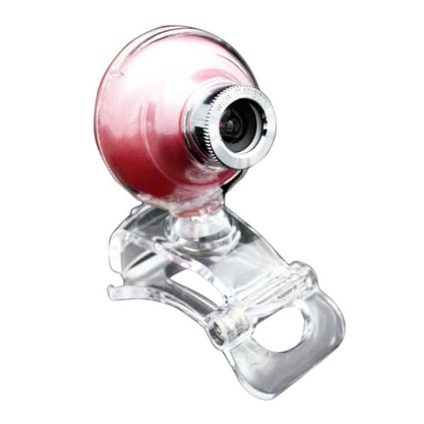 TTX Tech Pink Universal Circular USB Webcam With Microphone And Driver CD