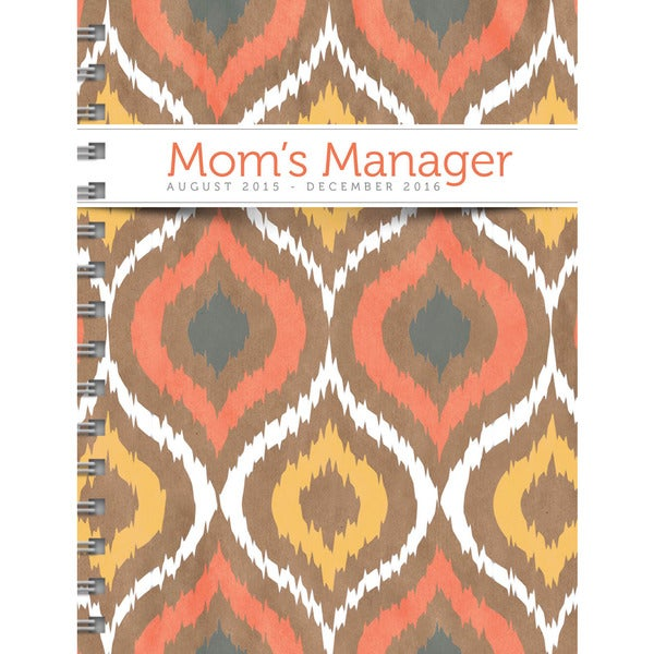 Mom's Manager Aug 2015 - Dec 2016 17 Month Spiral Engagement Planner