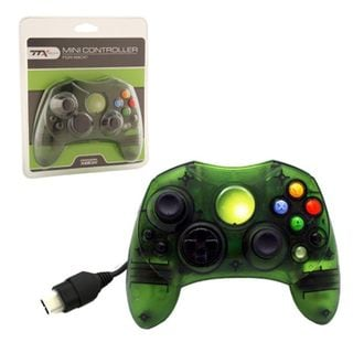 TTX Tech Green 6-feet Wired Controller For Microsoft Xbox System