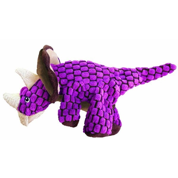 KONG Dynos Triceratops Pink Toy