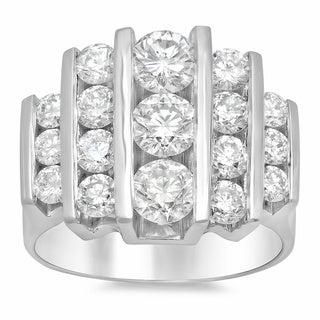 Artistry Collections 14k White Gold 2 3/4ct TDW Diamond Ring (E-F, VS1-VS2)