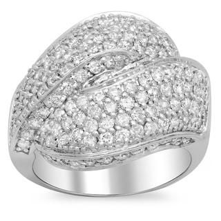 14k White Gold 2 1/4ct TDW Diamond Ring (E-F, SI1-SI2)