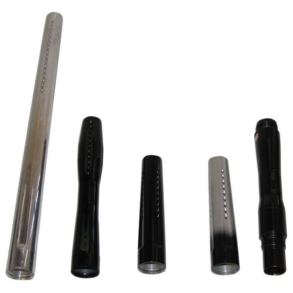Evil PIPE 4-in-1 10/ 12/ 16-inch Tips + Back 5-piece Stepped Barrel Set for Spyder/ Rebel/ Piranha Paintball Guns