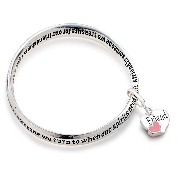 Pearlperri 'Friend' Forever Connected Bracelet