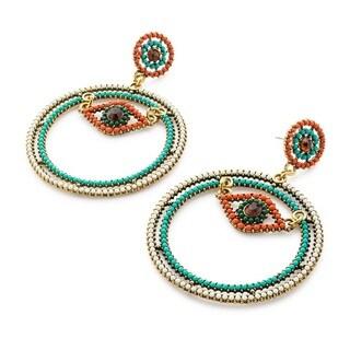 Pearlperri 'Hear No Evil' Energy-protective Earrings
