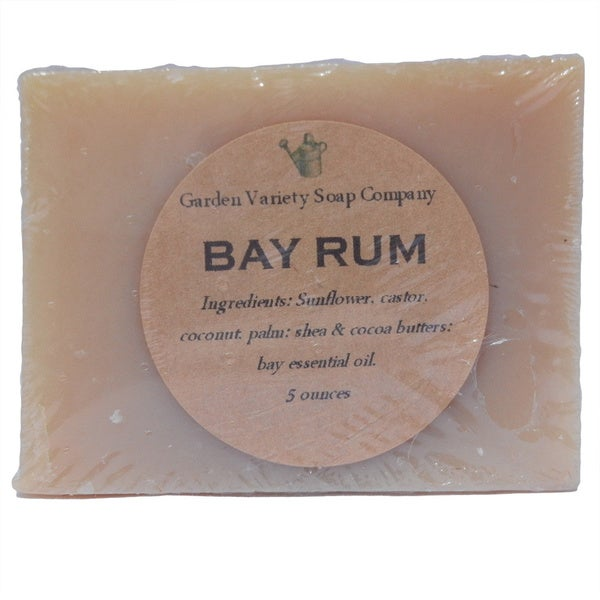 Bay Rum Natural Soap