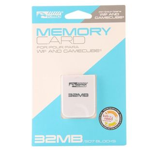 KMD 32 MB 507 Blocks Memory Card For Nintendo Wii And GameCube System