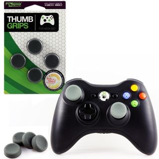 KMD Black Thumb Grips For Sony Playstation PS 3/ Microsoft Xbox 360
