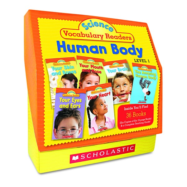 Scholastic Science Vocabulary Readers: Human Body (Includes 26 Books and Teaching Guide)