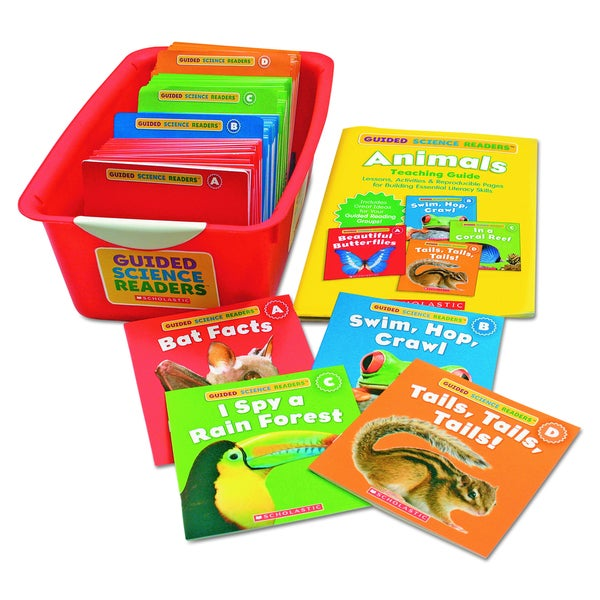 Scholastic Guided Science Reader Super Set, Animals (Includes 144 Books)