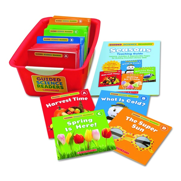 Scholastic Guided Science Readers, Seasons (Includes 144 Books)