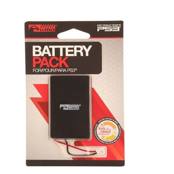 KMD 6 Hour Lifetime Rechargeable Battery For Sony Playstation PS 3 Controller