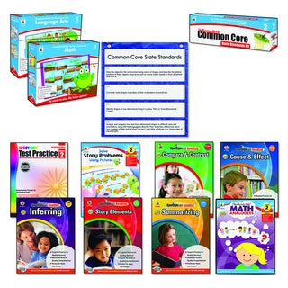 Carson-Dellosa Publishing Math/Language Grade 2 Common Core Kit