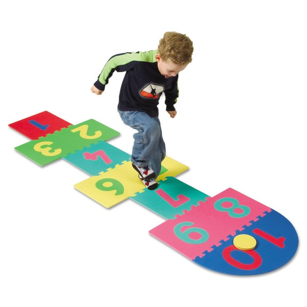 Creativity Street WonderFoam Hop Scotch Mat