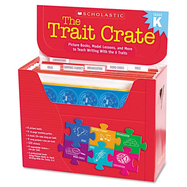 Scholastic Kindergarten Trait Crate