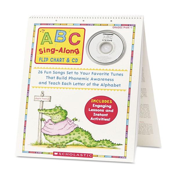 Scholastic ABC Singalong Flip Chart