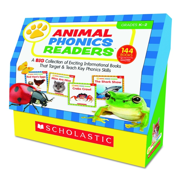 Scholastic Animal Phonics Readers for Grades K-2