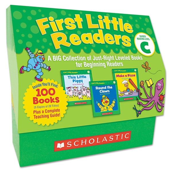 Scholastic First Little Readers Level C for Pre K-2