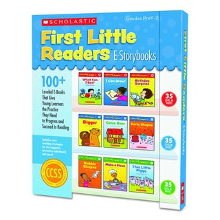 Scholastic First Little Readers Levels A, B, C for Grades Pre K-2