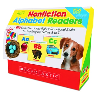 Scholastic Nonfiction Alphabet Readers for Grades PreK-1