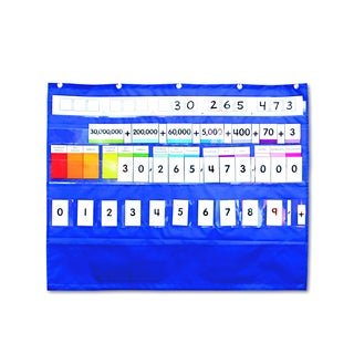 Carson-Dellosa Publishing 33 1/2 x 26 1/4 Place Value Pocket Chart