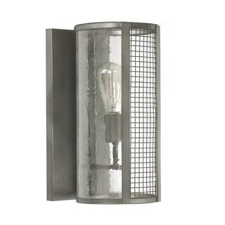 Capital Lighting Davis Collection 1-light Graphite Wall Sconce