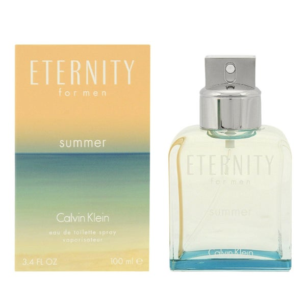 Calvin Klein Eternity Summer Limited Edition 2015 Men's 3.4-ounce Eau de Toilette Spray