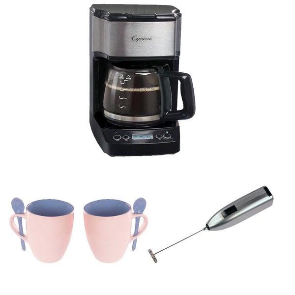 Capresso 42605 Mini Drip, 5-cup Coffee Maker with Bundle