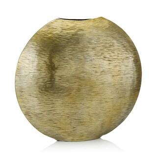 Gordo Small Gold Metallic Vase