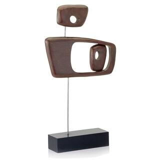 Objeto Brown Retro Sculpture