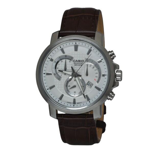Casio Men's BEM506L-7AV Beside White Watch