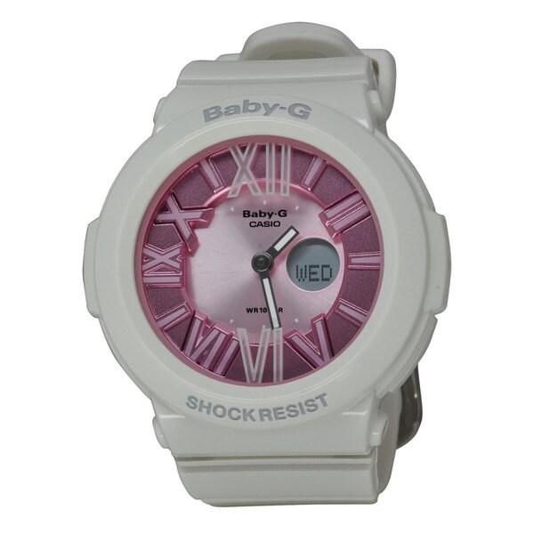 Casio Women's BGA161-7B2 Baby Pink Watch